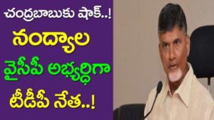 Nandyana YCP candidate Confirm