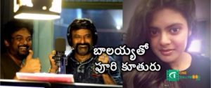Puri's daughter act with Balayya