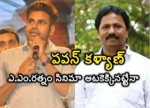 Pawankalyan and A M Rathnam Movie