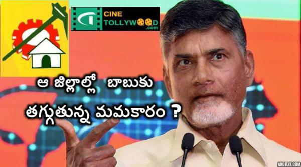 ChandraBabu is loosing interest on those districts.