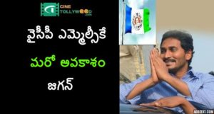 Another opportunity for the YSRCP MLC