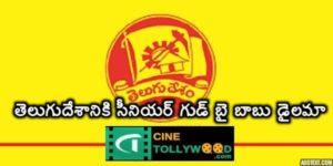 Senior Leander Goodbye for Telugu Desam Babu in Dilemma