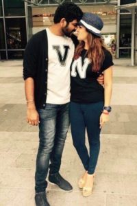 Lovely couple Nayanthara VigneshShivan