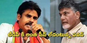 Pawan Kalyan said there is no seen to TDP