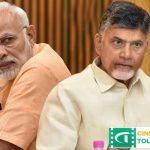 Modi's excessive anger Chandrababu over Sonia
