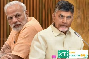 Modi's excessive anger Chandrababu over Sonia