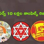 Look at the Big Survey 10 lakh samples in the AP