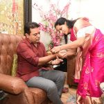 KTR Rakhi Celebrations with her Sister Kavitha
